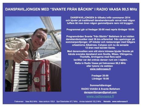Radio Vaasa puff 2014 jpg