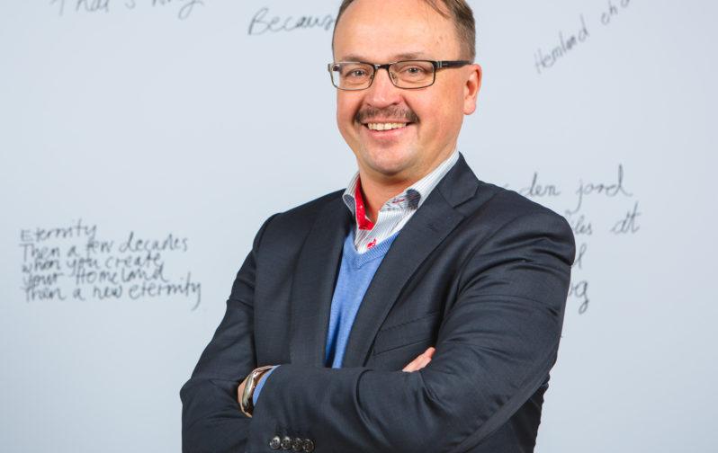 Startian johtaja Tommi Virkama.