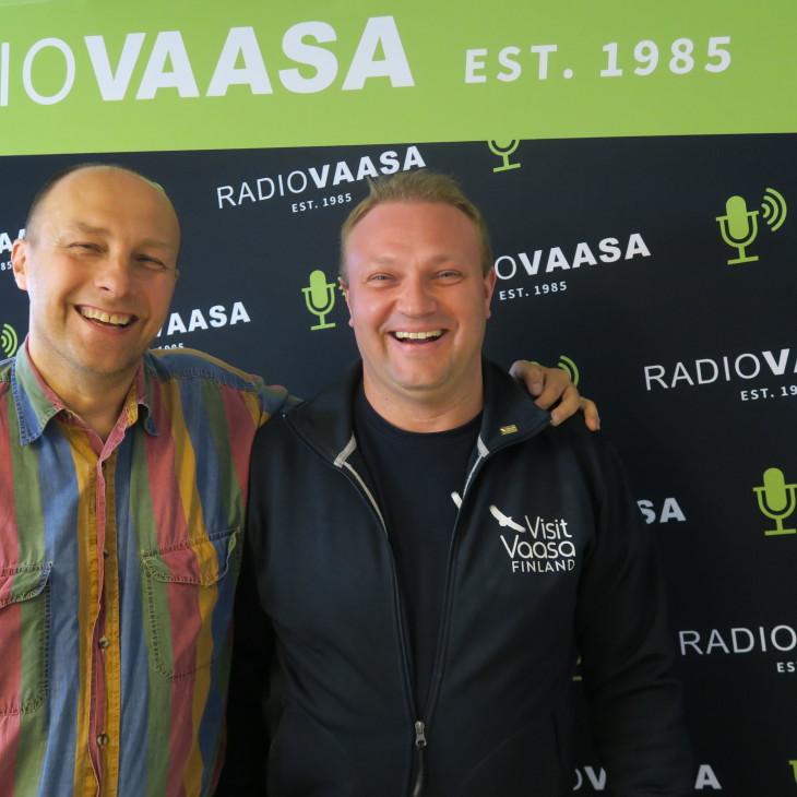 Hippi Hovi och Max Jansson