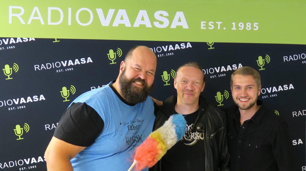 Kuvassa: Anssi, Kai ja Elias.