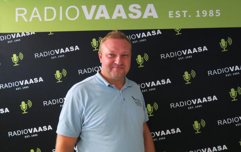 Max Jansson Radio Vaasassa 16.8.2016